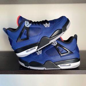 Nike Air Jordan 4 Retro Winterized Loyal Blue